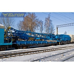 Żuraw dźwig kolejowy EDK 500